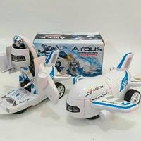Робот самолет трансформер Airbus ( детская игрушка для мальчика )