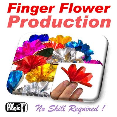 Реквізит для фокусів   Finger Flower Production (Set of 16) by Mr. Magic