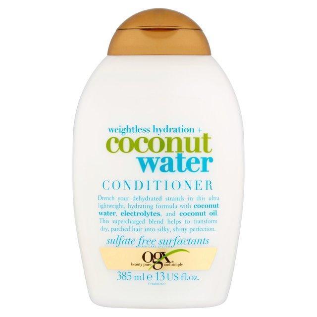 Кондиционер для невесомого увлажнения волос OGX Coconut Water 385ml