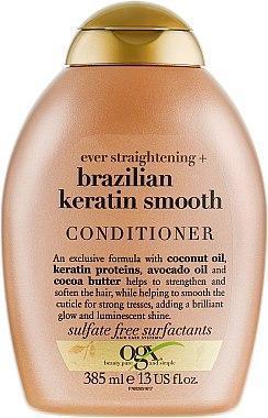 Кондиционер для волос укрепляющий OGX Brazilian Keratin Therapy 385ml