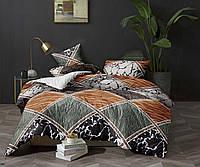 Комплект постельного белья 3Д Евро Поликоттон 60% хлопок полиестер