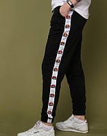 Мужские теплые спортивные зимние штаны Ellesse, Чоловічі спортивні штани Ellesse зимові теплі спортивки