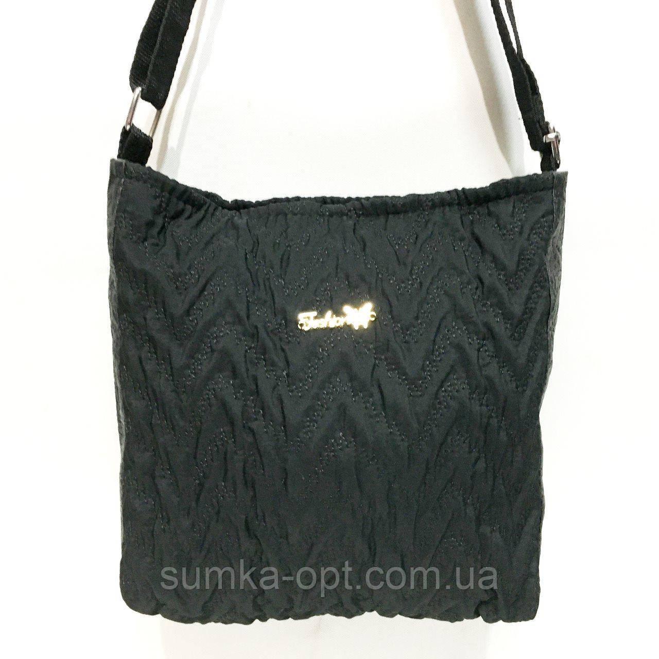 Стеганные сумочки и клатчи на плечо CLASSIC (ЧЕРНЫЙ)26*29см