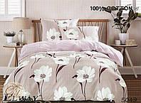 Семейный комплект постельного белья ELWAY 5049 сатин