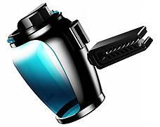 Ароматизатор для автомобіля Baseus Zeolite Car Fragrance Блакитний (AMROU-03), фото 2