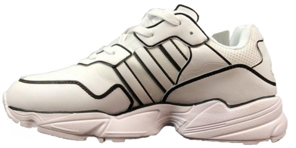 "Кроссовки Adidas yung 96 ""White/Black"" (в стиле Адидас )"