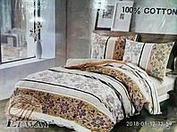 Семейный комплект постельного белья ELWAY 5076 сатин