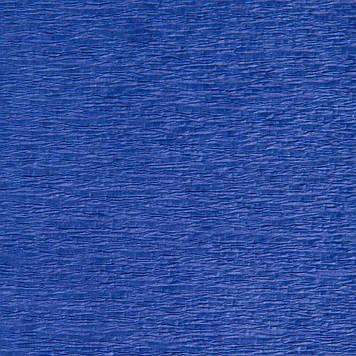 Креп гофро бумага 30 гр/м2 №16 темно-синий