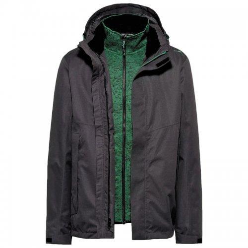 Куртка мужская CMP man jacket zip hood + detachab