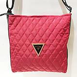 Стеганные сумочки и клатчи на плечо Chanel (БОРДО)23*28см, фото 5