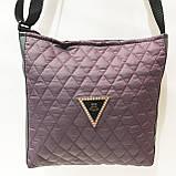 Стеганные сумочки и клатчи на плечо Chanel (БОРДО)23*28см, фото 9