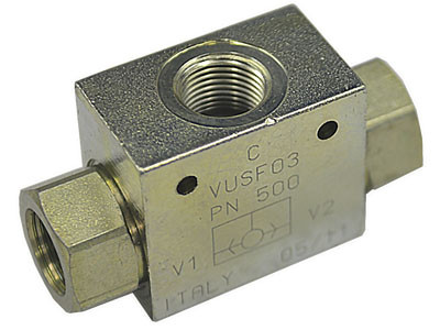 Клапан ИЛИ резьбового монтажа VUSF