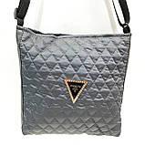 Стеганные сумочки и клатчи на плечо Prada (ЧЕРНЫЙ)23*28см, фото 8