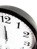 Часы настенные круглые Abir 200BL с плоской окружностью. опт, фото 2