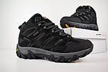 Зимові чоловічі черевики Merrell Moab високі чорні 41-46 рр. Живе фото. Репліка, фото 3