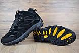 Зимові чоловічі черевики Merrell Moab високі чорні 41-46 рр. Живе фото. Репліка, фото 5