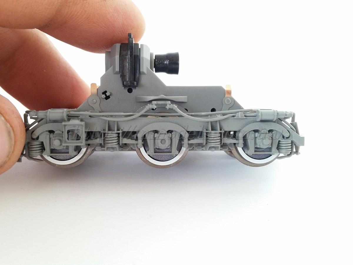 Piko ET52800-70 тележка в сборе для локомотива Piko 52800 V200, М62, масштаба H0 / 1:87