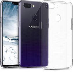 Прозрачный Чехол OPPO A5s (ультратонкий силиконовый) (Оппо А5с)