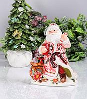 """Новогодний подсвечник """"Дед Мороз"""" 59-583"""