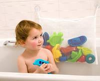 Сетка органайзер на присосках для игрушек в ванную