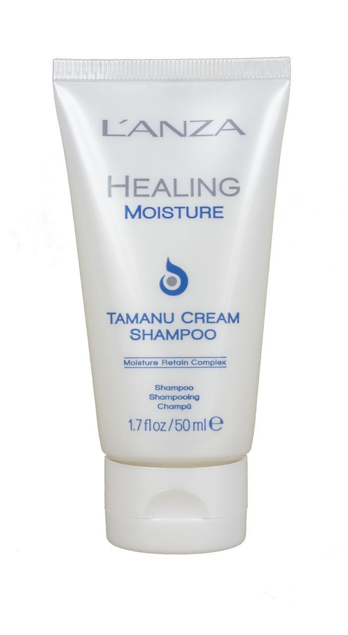Lanza healing moisture tamanu cream shampoo Увлажняющий шампунь с маслом таману ph: 5.4, 50 мл