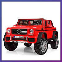 Детский электромобиль Mercedes benz c пультом Bambi M 4000 EBLR-3 красный|Дитячий електромобіль Бембі червоний