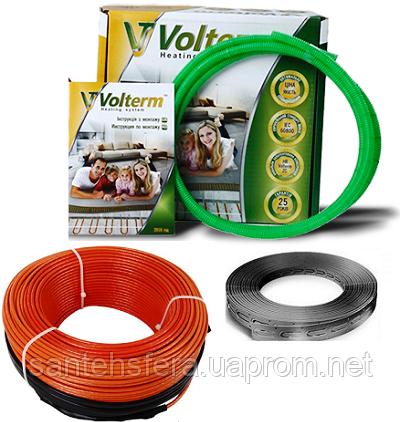 Коаксиальный нагревательный кабель Volterm HR12 1500, 12 W/m (ø 4 мм)