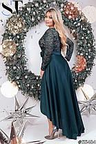 Платье  БАТАЛ нарядное в расцветках 48172, фото 3