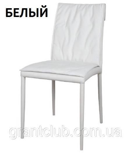 Обідній стілець NAVARRA (Навару) кожзам білий Nicolas