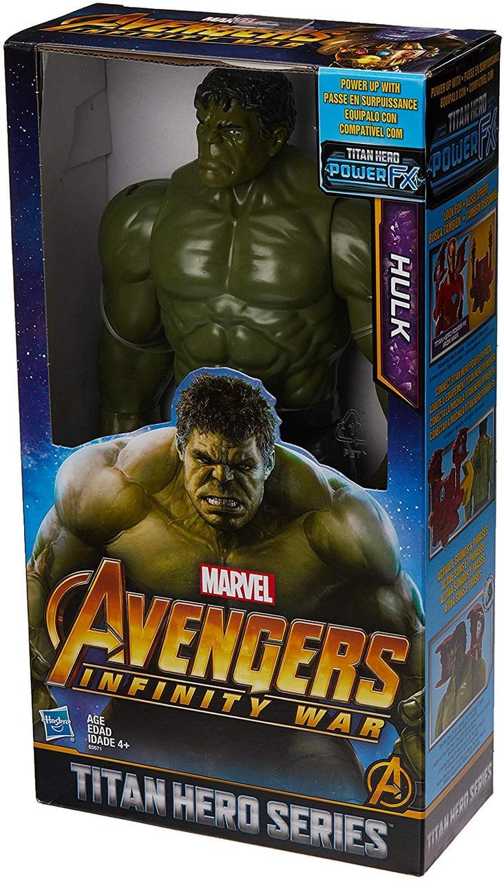 Фигурка Hasbro Халк, Мстители Война Бесконечности 30 см - Titan Hero Series, Hulk, Avengers