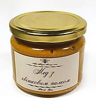 Мед с пыльцой 400 грамм