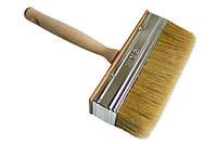 Кисть-макловица  деревянная ручка 30 мм х 150 мм