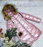 Зимняя куртка 35 DH на 100% холлофайбере размеры от 134 см до 158 см рост, фото 1
