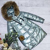 Зимняя куртка 35 DH на 100% холлофайбере размеры от 140см и 158 см рост, фото 1
