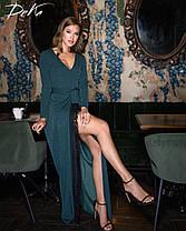 Плаття в підлогу мереживо 04ат15260, фото 2