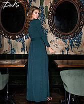 Плаття в підлогу мереживо 04ат15260, фото 3