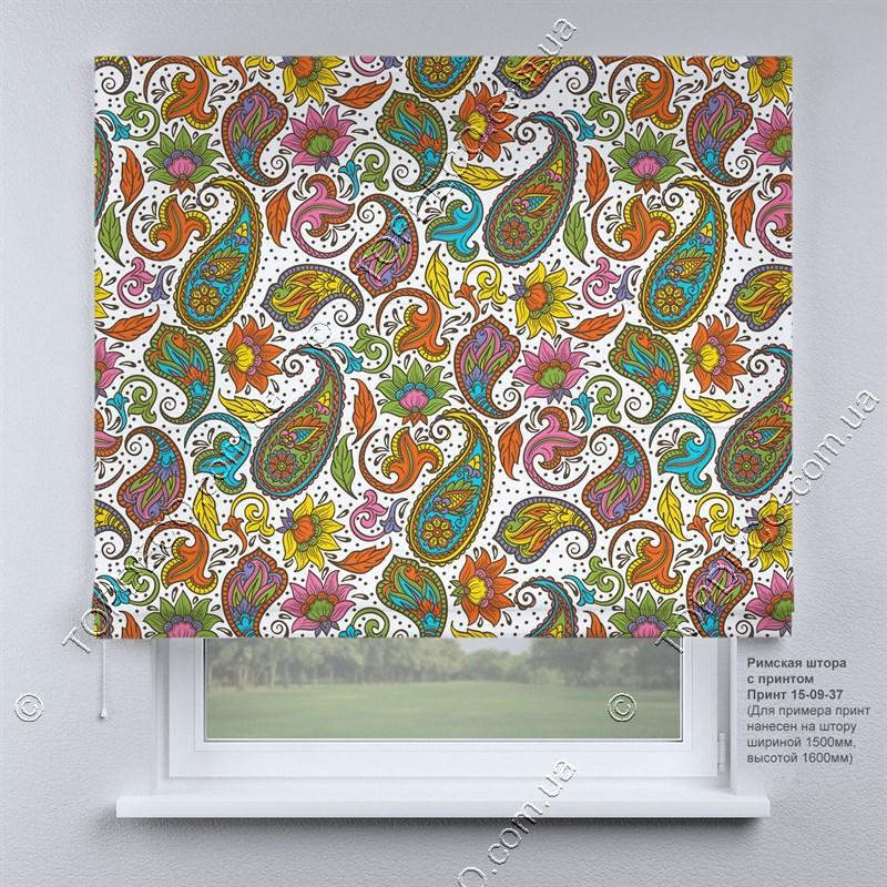 Римська фото штора Арабеска. Безкоштовна доставка. Інд.розмір. Гарантія. Арт. 15-09-37