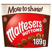 Молочный шоколад Maltesers Buttons 189 g
