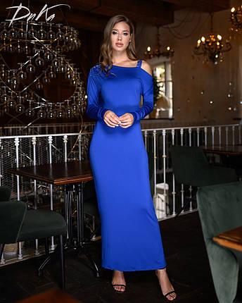 Платье в пол в расцветках 04р1524, фото 2