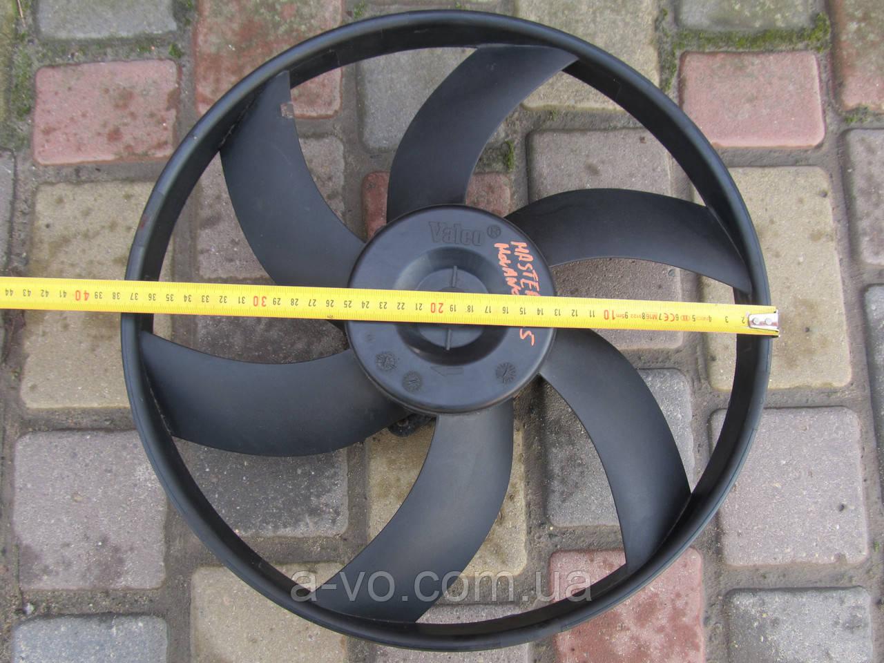 Вентилятор основного радиатора дляRenault Master Opel Movano 2.5D, 856627C