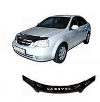 Дефлектор капота  Chevrolet Lacetti с 2003, Мухобойка Chevrolet Lacetti