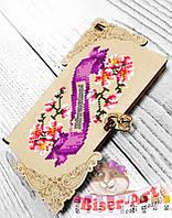 """Коробочка-конверт для денег или украшений под вышивку """"Сакура"""" 22203"""