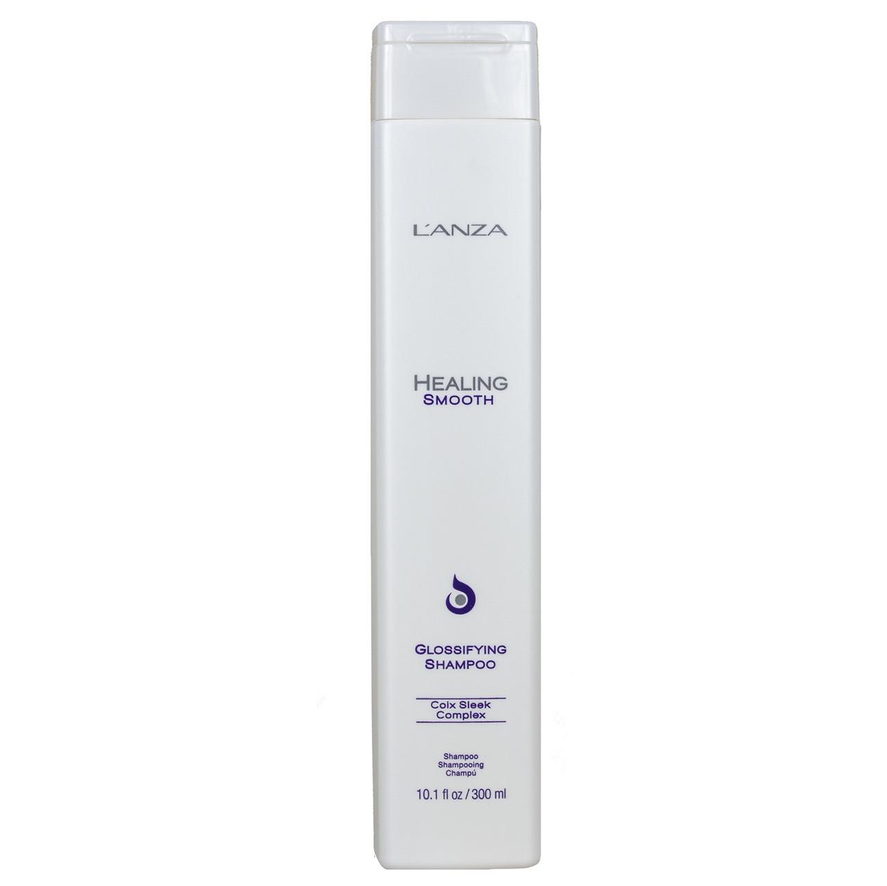Lanza healing smooth glossifying shampoo Разглаживающий Шампунь для блеска волос ph: 5.4, 300 мл