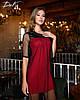 Сукня сітка в кольорах 04р1543, фото 3