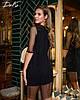 Сукня сітка в кольорах 04р1543, фото 5