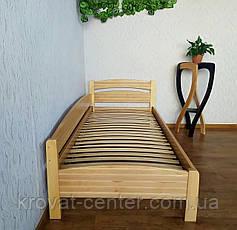 """Ліжко односпальне з масиву дерева """"Березня - 2"""" від виробника, фото 2"""