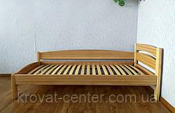 """Ліжко односпальне з масиву дерева """"Березня - 2"""" від виробника, фото 3"""