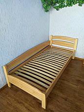 """Кровать односпальная из массива дерева """"Марта - 2"""" от производителя, фото 3"""