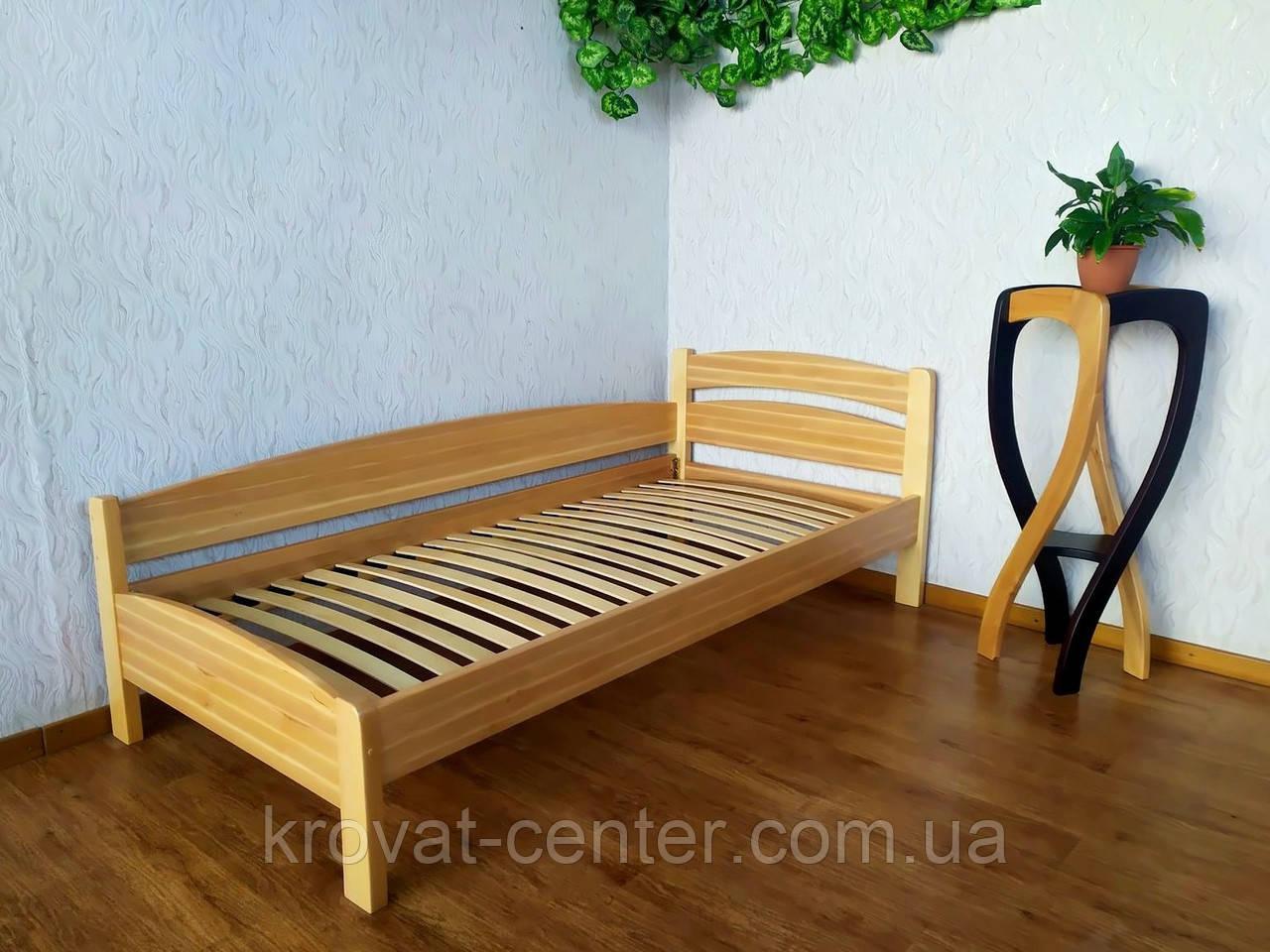 """Ліжко односпальне з масиву дерева """"Березня - 2"""" від виробника"""