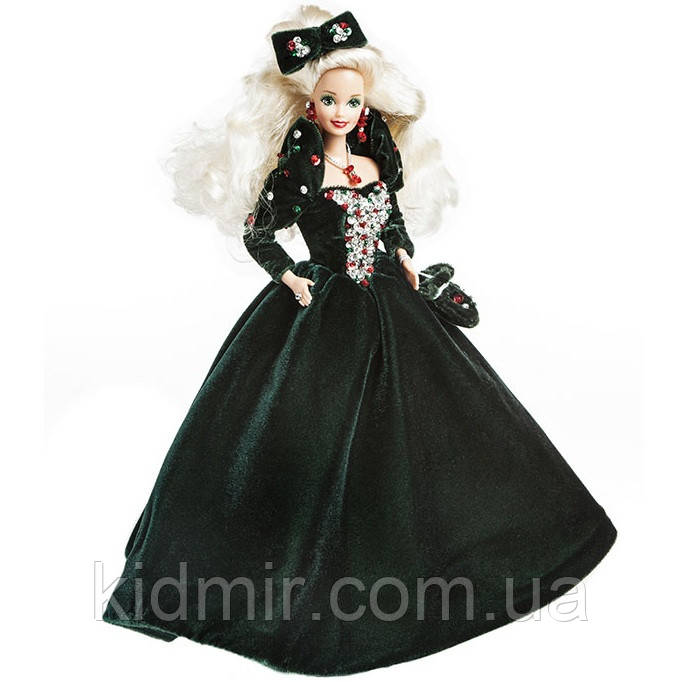 Кукла Барби Коллекционная Счастливого Рождества 1991 Barbie Happy Holidays 1871